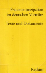 Frauenemanzipation im deutschen Vormärz