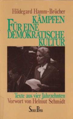 Kämpfen für eine demokratische Kultur