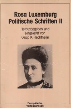 Politische Schriften II