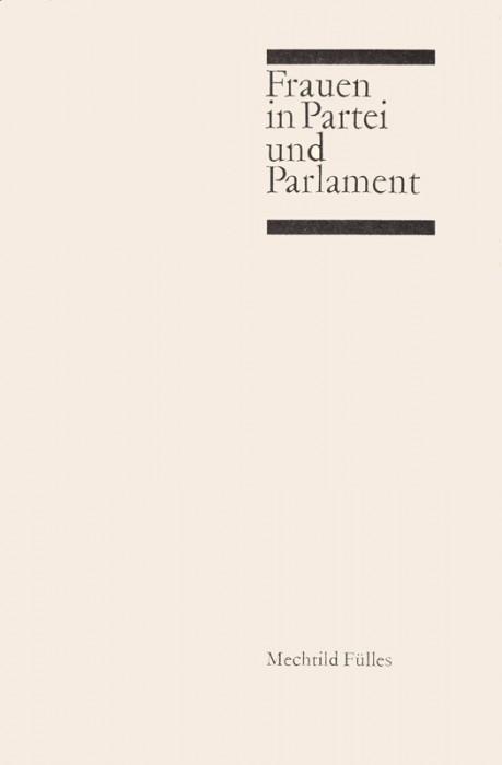 Frauen in Partei und Parlament